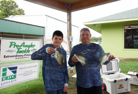 2016 August Lake Tawakoni Results