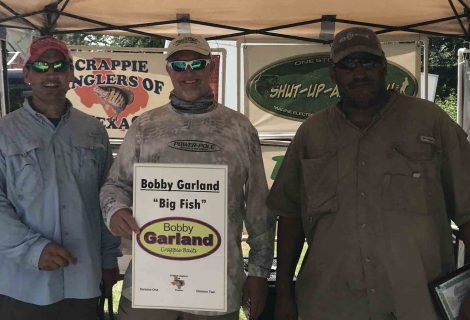 2018_07 July Lake Tawakoni Results